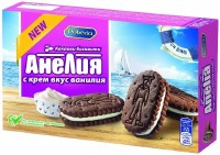 Pobeda Anelia Cocoa Biscuits with Vanilla Cream 187g