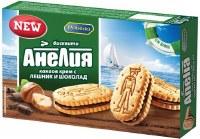 Pobeda Anelia Biscuits with Hazelnut and Chocolate Cream 187g