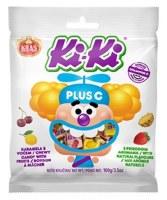 Kras KiKi Plus Vitamin C Chewy Candy with Fruit 100g