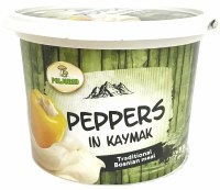 Poljorad Peppers in Kajmak Cream Cheese Spread 500g F