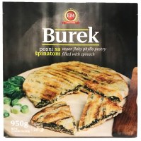 EM Burek Filled with Spinach Vegan 950g F