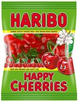 Haribo Happy Cherries Gummy Candy 200g
