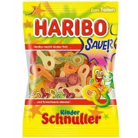 Haribo Sour Kinder Schnuller Gummy Candy 200g
