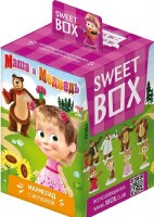 Confitrade Sweet Box Masha and The Bear Gummies 10g