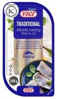 Vici Traditional Atlantic Herring in Oil 240g F
