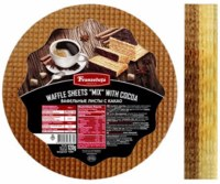"""Franzeluta Waffle Sheets """"Mix"""" with Cocoa 120g"""