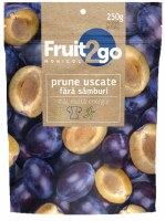 Fruit2Go Dried Pitted Prunes 250g