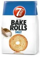 7 Days Bake Rolls with Salt 112g