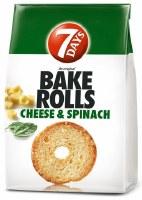 7 Days Bake Rolls with Spinach Flavor 112g