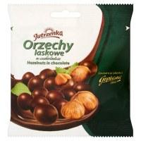 Jutrzenka Hazelnuts in Dark Chocolate 80g