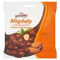 Jutrzenka Almonds in Milk Chocolate 80g