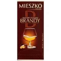 Mieszko Liqeur Chocolates with Brandy Filling 180g