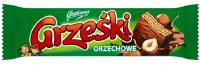 Goplana Grzeski Milk Chocolate Coated Wafer with Hazlenut Cream 36g