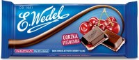 E. Wedel Dark Chocolate with Cherry Filling 100g