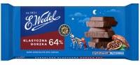 E. Wedel Classic Dark Chocolate 64% Cocoa 90g