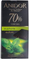 Kandia Anidor Dark Chocolate 70 Percent with Mint 85g