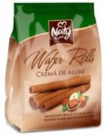 Naty Wafer Rolls with Hazelnut Cream 200g