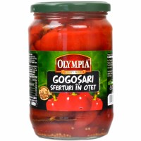 Olympia Red Peppers in Vinegar 600g