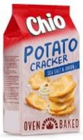 Chio Sea Salt and Onion Potato Crackers 90g