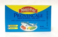 Marco Polo Provencale Mackerel Salad with Carrots and Cucumbers in Tomato Sauce 125g