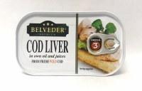 Belveder Cod Liver 120g