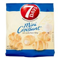 7 Days Mini Croissant with Vanilla Cream Filling 200g