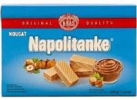 Kras Nougat Wafers Napolitanke 330g
