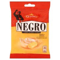 Gyori Mezes Negro Throat Candy with Honey 79g