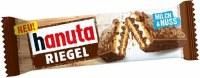 Ferrero Hanuta Riegel Chocolate Covered Wafer Bar 34g