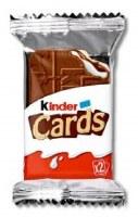 Ferrero Kinder Cards 25g