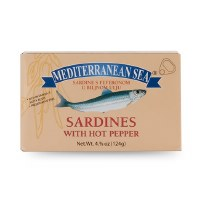 Mediterranean Sea Sardines with Hot Peppers 113g