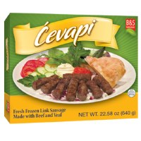Brother and Sister Beef and Veal Cevapi 1.6 lbs F