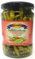Gradina Hot Fefferoni Peppers 19oz