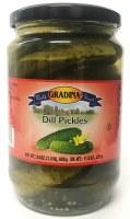 Gradina Dill Pickles 24oz