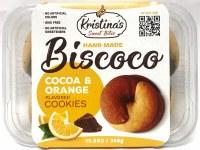Kristina's Biscoco Cocoa and Orange Flavored Cookies 350g