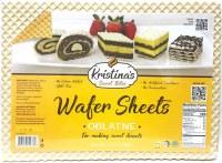 Kristina's Wafer Sheets Oblatne 210g