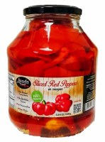 Livada Gogosari Slices Red Peppers in Vinegar 1600g