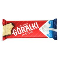 Goralki Wafer Chocolate Bar with Cocoa and Creamy Milk Filling 50g