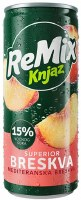 Knjaz Milos Remix Superior Peach Soft Drink 330ml