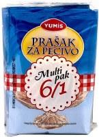 Yumis Baking Powder 6pk 60g