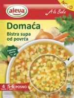 Aleva Clear Vegetable Soup With Pasta 45g