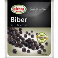 Aleva Black Peppercorn Crni Biber u Zrnu 20g