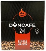 Doncafe Instant 2 in 1 Coffe and Cream 24 Pouches x 16g