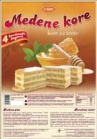 Bradic Honey Cake Layer Medene Kore 450g F