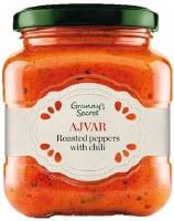 Grannys Secret Hot Ajvar with Chili Peppers 550g