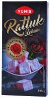 Yumis Turkish Delight Rose Flavor 190g