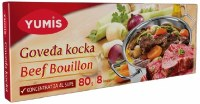 Yumis Beef Flavored Bouilon Cubes 80g