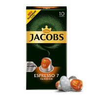 Jacobs Lungo Espresso 7 Classico Capsule Coffee 52g