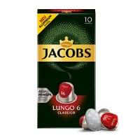 Jacobs Lungo 6 Classico Capsule Coffee 52g