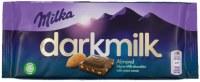 Milka Darkmilk Almond Chocolate Bar 85g